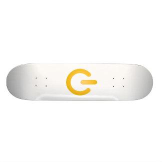 Botón de encendido simple patinetas personalizadas