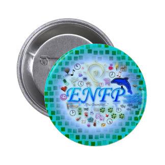 Botón de ENFP Pin Redondo De 2 Pulgadas