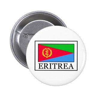 Botón de Eritrea Pin Redondo De 2 Pulgadas