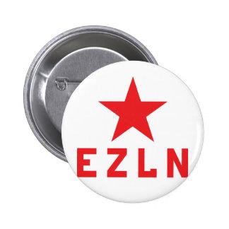 Botón de EZLN Zapatista