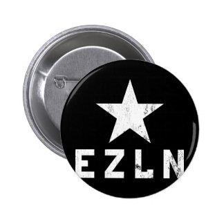 Botón de EZLN Zapatista Pin Redondo De 2 Pulgadas