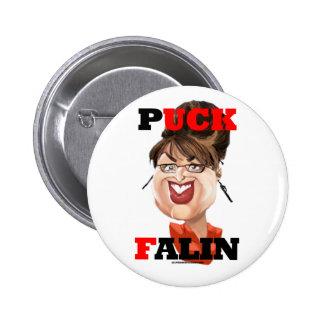 Botón de Falin del duende malicioso Pin Redondo De 2 Pulgadas