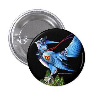 Botón de Feathyrkin Veeku Pin Redondo De 1 Pulgada