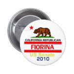 Botón de Fiorina 2010 Pins