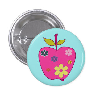 Botón de FlowerApple Pin