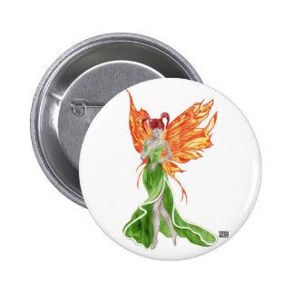 Botón de Flutterby Fae (hiedra)