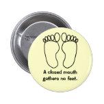 Botón de Footsies Pins