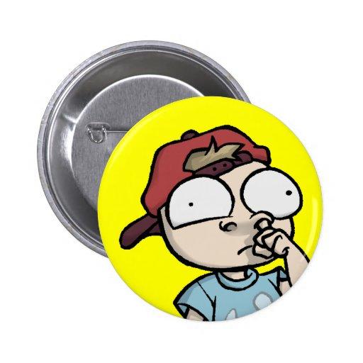 Botón de Forumwarz Permanoob Pin Redondo De 2 Pulgadas