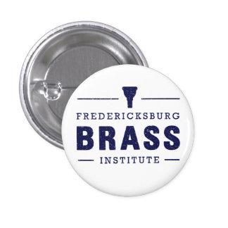 Botón de FredBrass (pequeño) Pin Redondo De 1 Pulgada