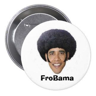 Botón de FroBama 3-Inch Pin