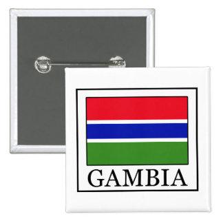 Botón de Gambia Pin Cuadrado