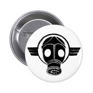 Botón de Gasmask Pins
