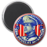 Botón de general Douglas MacArthur del kitsch del Imán Redondo 5 Cm