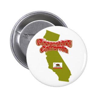 Botón de Geocaching California Pin