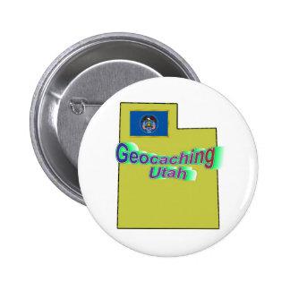 Botón de Geocaching Utah Pins