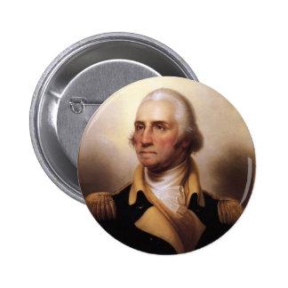 Botón de George Washington Pins