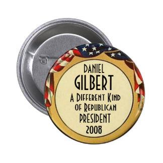 Botón de GILBERT Pin
