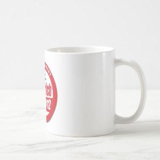 Botón de Gingrich 2012 Tazas De Café