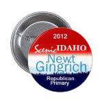 Botón de Gingrich IDAHO Pins