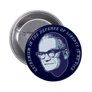 Botón de Goldwater Pin Redondo De 2 Pulgadas