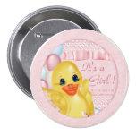 Botón de goma del pato P Pin