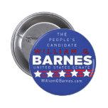 Botón de Guillermo G Barnes Pin