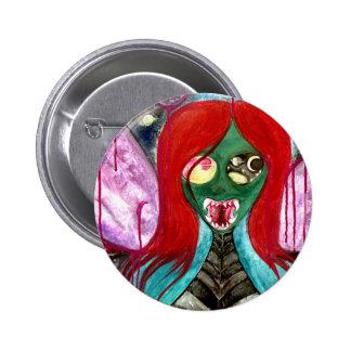 Botón de hadas extranjero de la insignia del arte pin redondo de 2 pulgadas