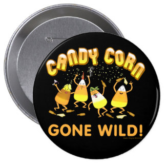 Botón de Halloween de las pastillas de caramelo
