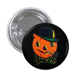 Botón de Halloween del vintage