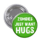 Botón de Halloween del zombi