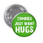 Botón de Halloween del zombi Pins