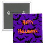Botón de Halloween - palos Pins
