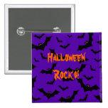Botón de Halloween - rocas de Halloween de los pal Pin