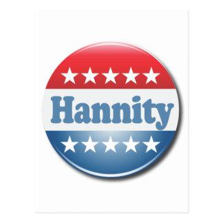 Botón de Hannity Tarjeta Postal