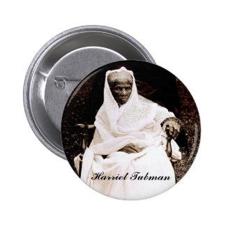 Botón de Harriet Tubman Pin Redondo De 2 Pulgadas