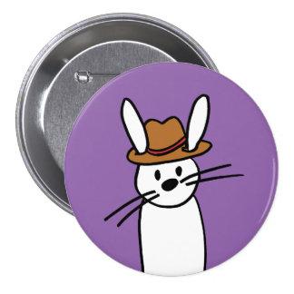 Botón de Harvey Pinback Pin Redondo De 3 Pulgadas