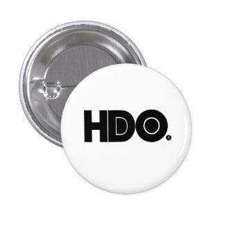 Botón de HDO Pin Redondo De 1 Pulgada