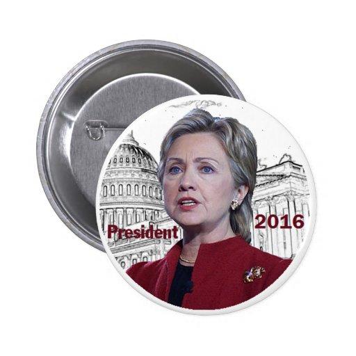 Botón de Hillary 2016