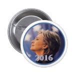 Botón de Hillary 2016 Pins