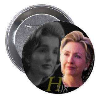 Botón de Hillary 3-Inch