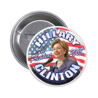 botón de hillary Clinton Pin