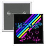 Botón de HipHop Pin