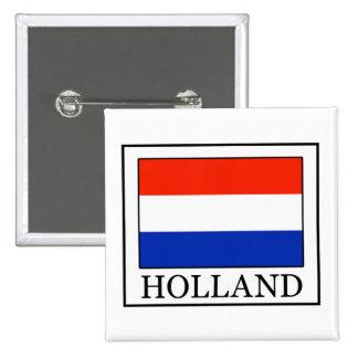 Botón de Holanda Pin Cuadrado