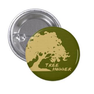 Botón de Hugger del árbol Pin Redondo De 1 Pulgada
