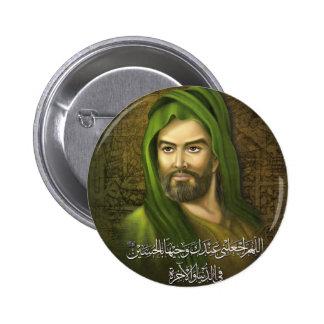 Botón de Hussein del imán Pin Redondo De 2 Pulgadas