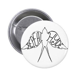 Botón de Hyde de la derogación Pins