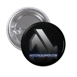 botón de Hystericalminds.com Pin Redondo De 1 Pulgada