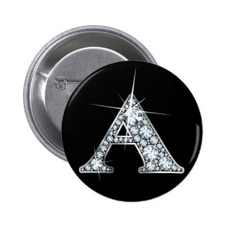 Botón de impresión de Bling del diamante de A Pins