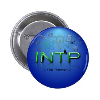 Botón de INTP Pin Redondo De 2 Pulgadas