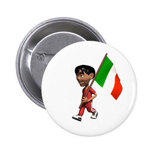 Botón de Italia Pin